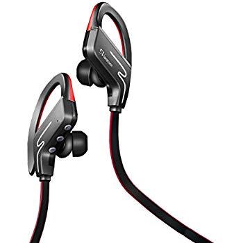Wireless Sports Sweatproof Bluetooth v4.1 Headset at amazon $16.19