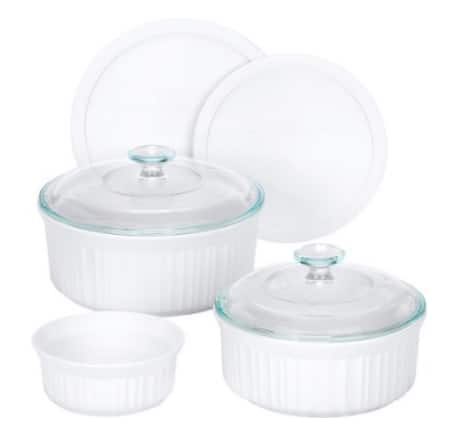 Lowest Price! CorningWare 7-Piece Casserole Set $19.54 + Free* Shipping