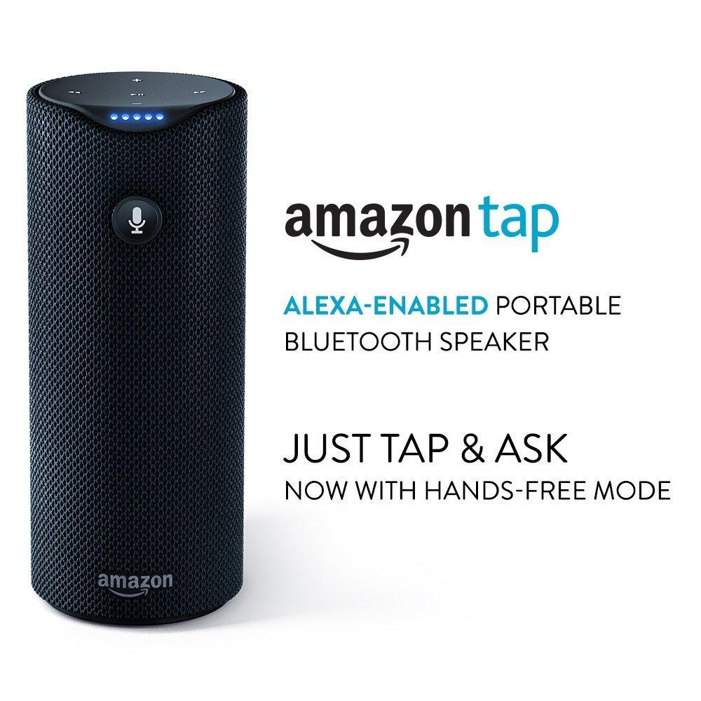 Certified Refurbished Amazon Tap - Alexa-Enabled Portable Bluetooth Speaker $69.99