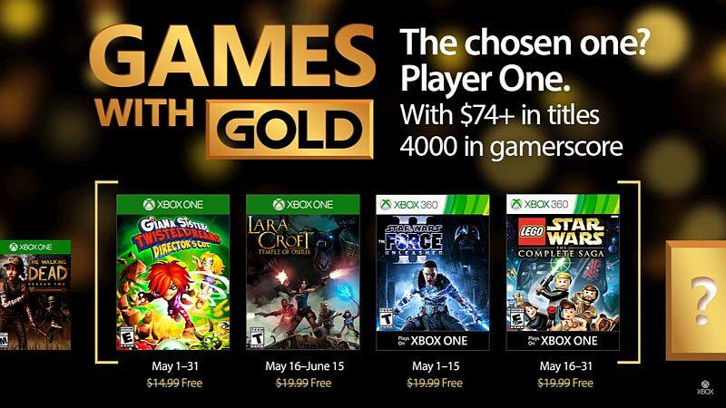 XBOX Games with Gold - May 2017