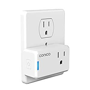 Smart Plug Mini, Wi-Fi Switch and Remote Control Outlet $9.99