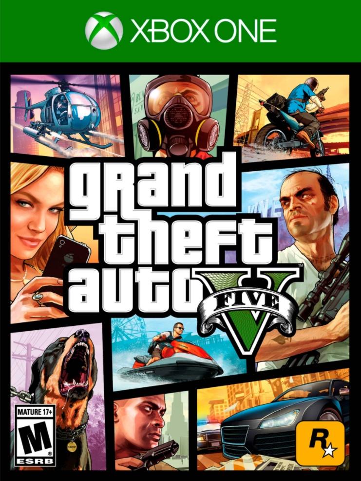 grand theft auto V (GTA V) Xbox one Target Ebay $25
