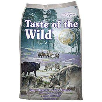 Taste of the Wild Sierra Mountain (Lamb) Dog Food - 30lb $35 free shipping Amazon