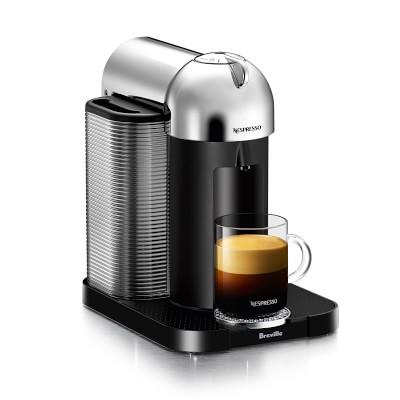 Nespresso Vertuoline by Breville Espresso Maker, Chrome with $20 Coffee Credit $99.95