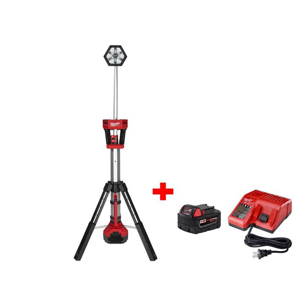 M18 18-Volt Lithium-Ion Cordless Rocket LED Tower Light Kit $199