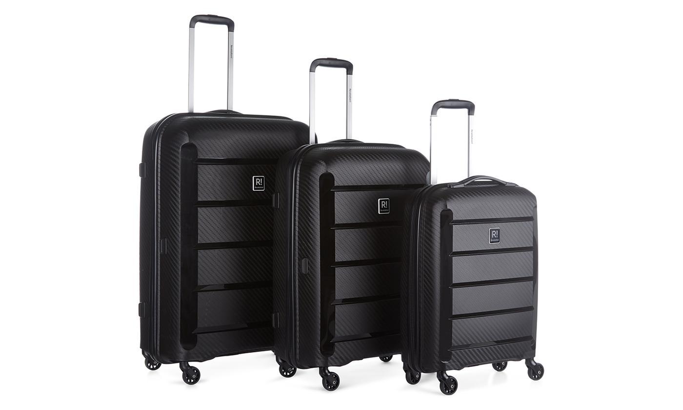 Revelation Hardside Spinner Luggage Set (3-Piece - 20'' , 27'' & 30'' spinner) - $109 @ groupon