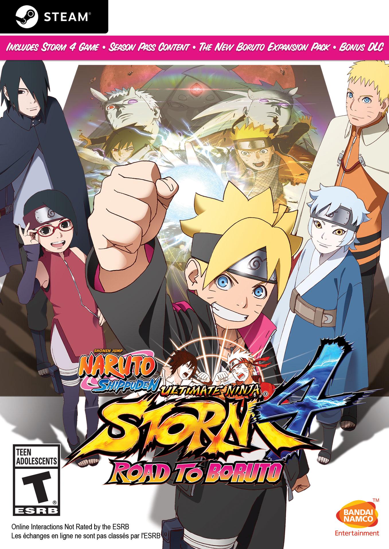 Naruto Shippuden Ultimate Ninja Storm 4 - Road to Boruto [Steam