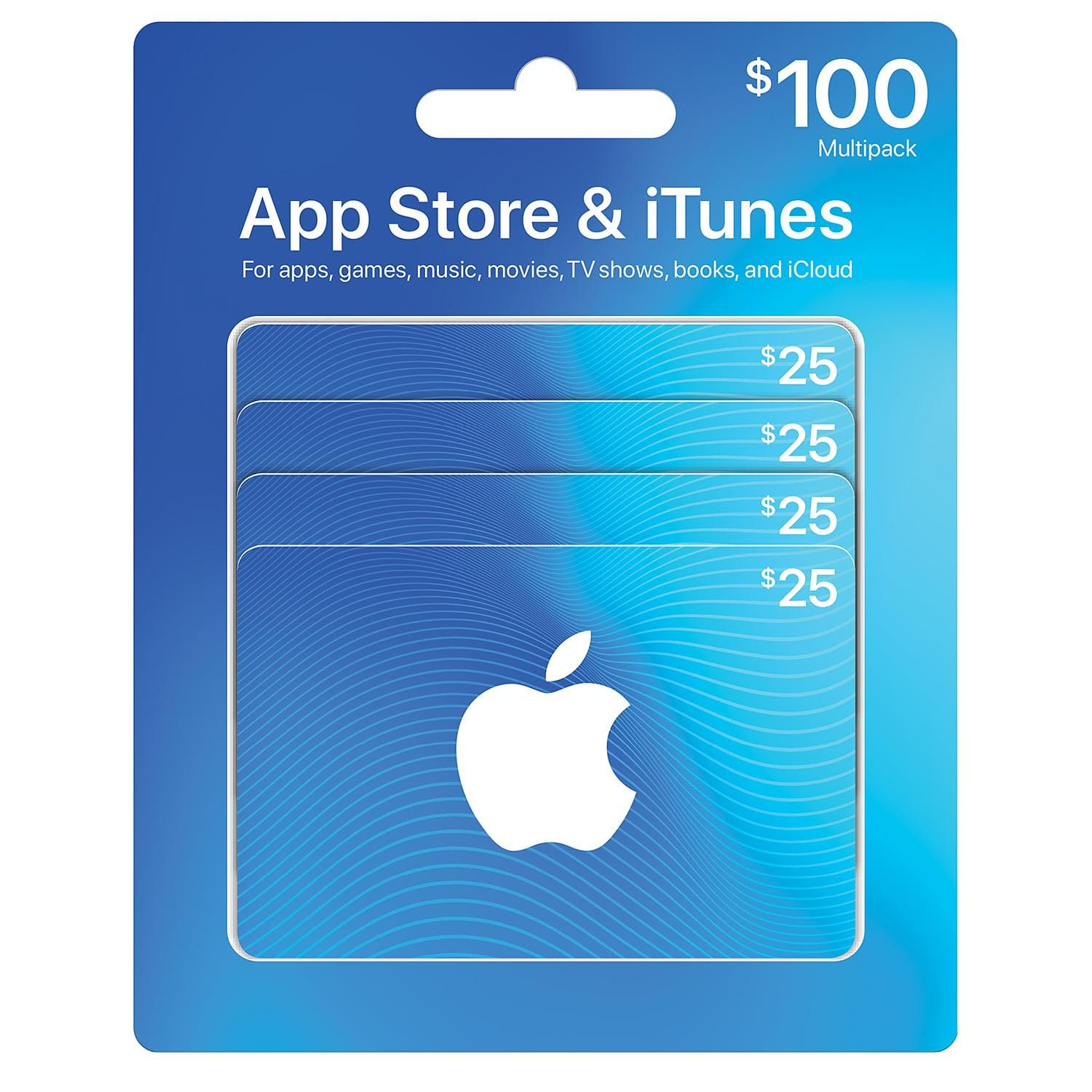 $100 iTunes Gift Cards Multipack for $84.47 and more [Sam's Club]