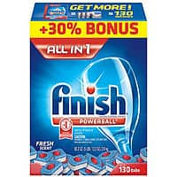 Sam's Club Deal: Finish 130 ct dishwasher tabs and Jet Dry 32 oz  for $11.76 + tax w/FS @ Sam's Club