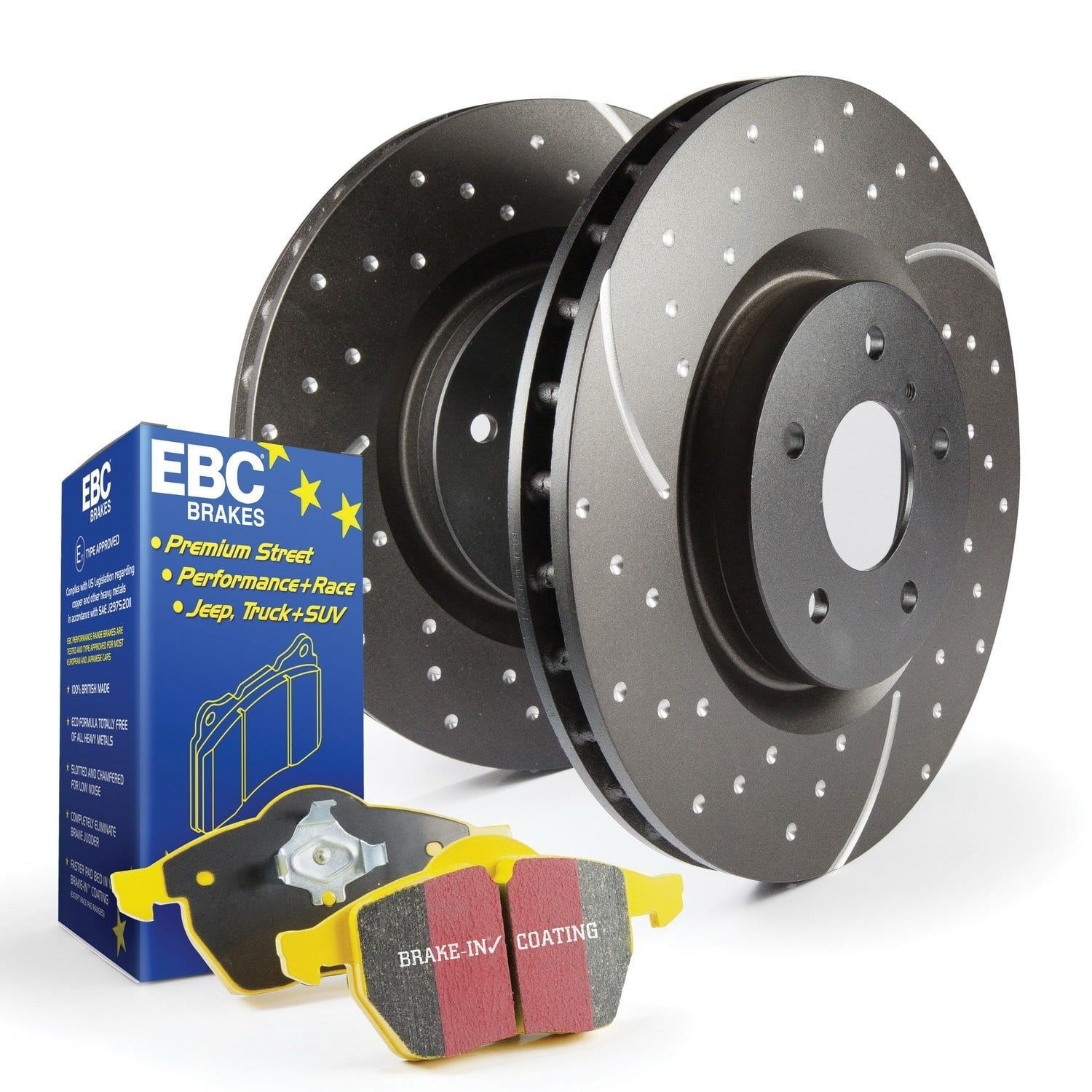 EBC Brake pad clearance at Amazon - some over 90% off.