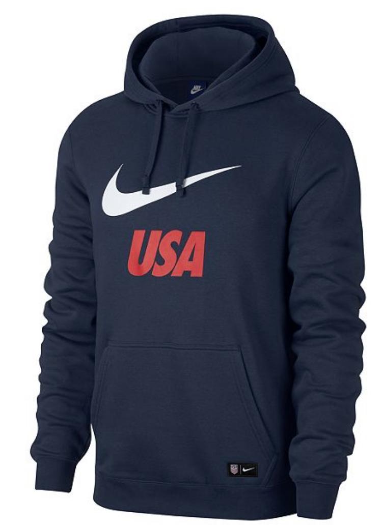 Nike Men's Fleece Logo Hoodie $29.93