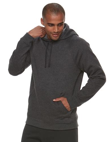 $11.99 Ultra Soft Fleece Pull-Over Hoodie
