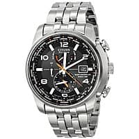 """Amazon Deal: Citizen Men's AT9010-52E """"World Time A-T"""" Stainless Steel Eco-Drive Watch $270 from Amazon"""