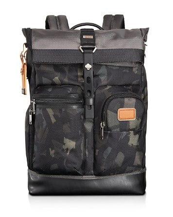 Tumi Luke Roll Top Backpack + $50 rewards for $207 or lower from Bloomingdales.com