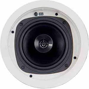 "Klipsch In-Ceiling Speaker with 6.5"" IMG-Cone Woofer - White $59 w/ Fry's Promo Code"
