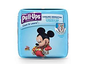 Huggies Boys Pull-Ups Cool & Learn, 3T-4T (32-40 lb.), 66 Ct $12.03 w/ 20% SS on Amazon