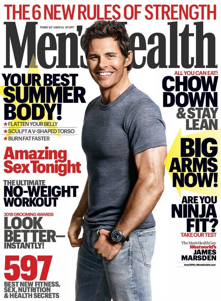 Men's Health Print Magazine $9.99 original $49.90