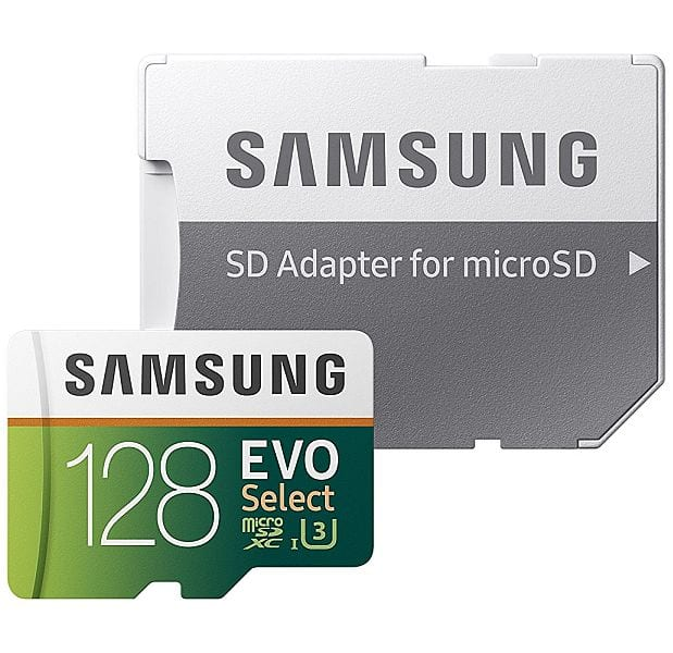 128GB Samsung EVO Select Class 10 UHS-I U3 MicroSD Memory Card $37 + Free Shipping Live again