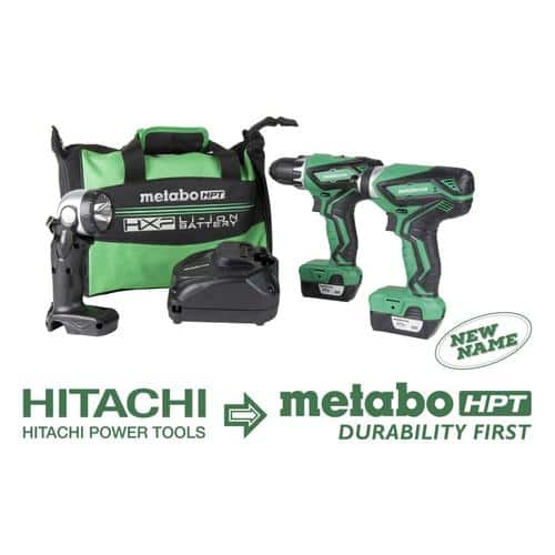 Hitachi 12-Volt Max 3-Tool Power Tool Combo Kit with Soft Case (2-Batteries Included and Charger Included) $89