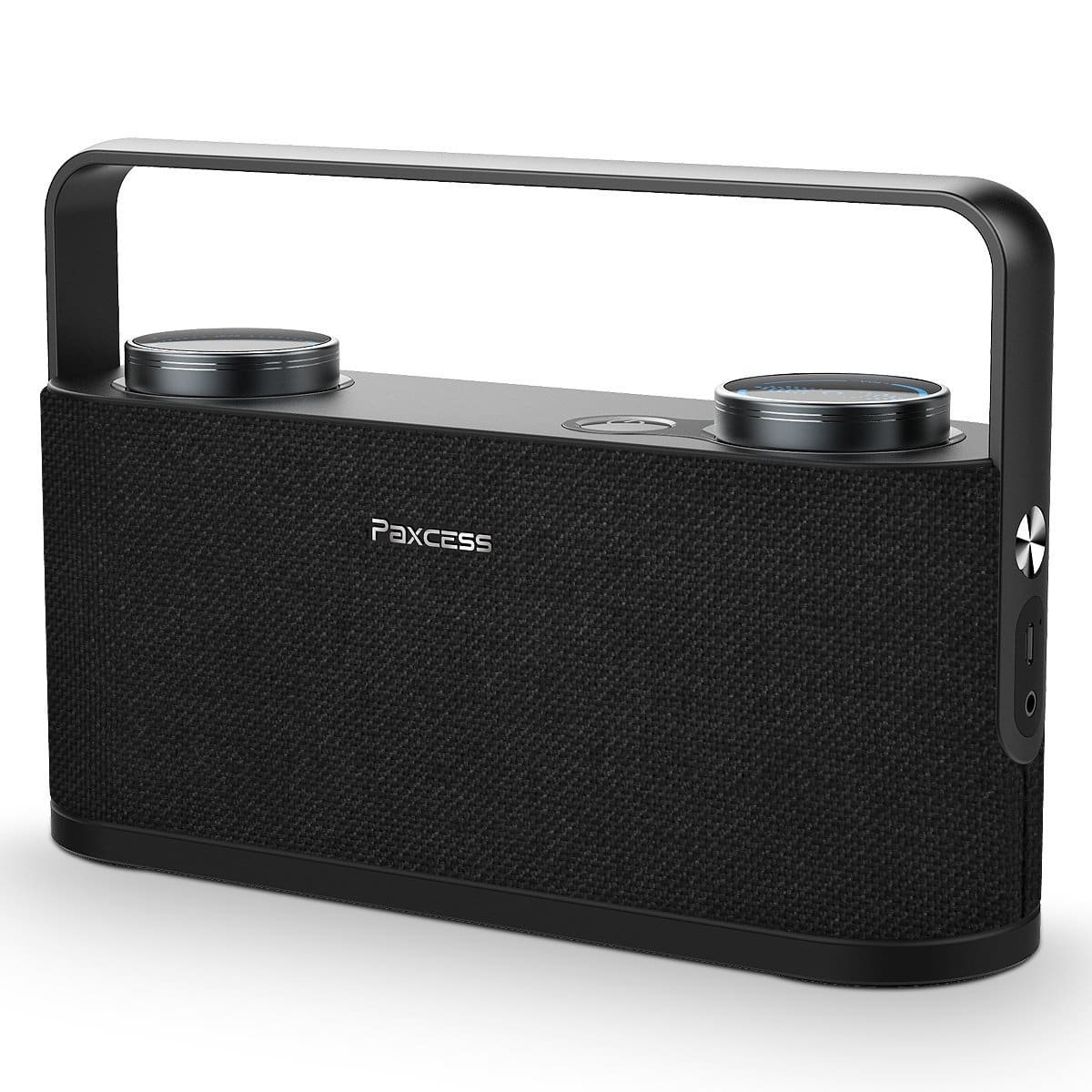 PAXCESS Wireless Bluetooth Morgen Portable Speaker 20W Driver - $20