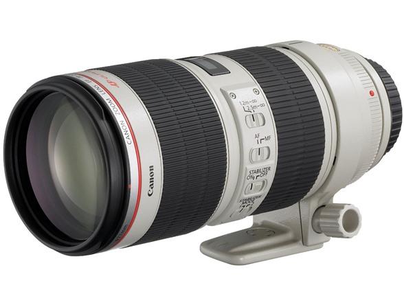 Canon EF 70-200mm f/2.8L IS USM Lens $1259.99