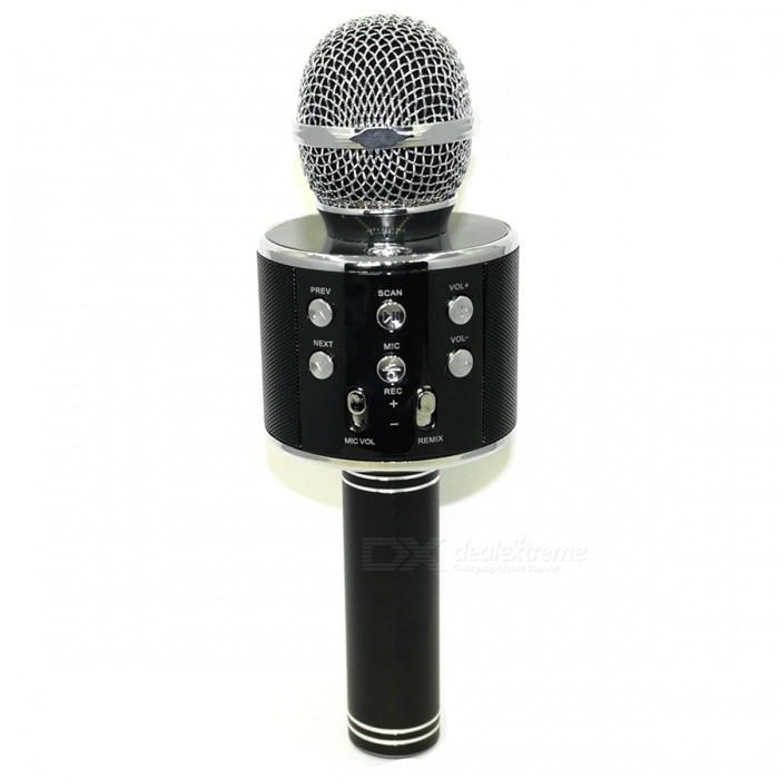 WS-858 Wireless Bluetooth Karaoke Microphone $12.29