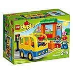 Amazon - LEGO DUPLO Town School Bus 10528 Building Toy $9.99