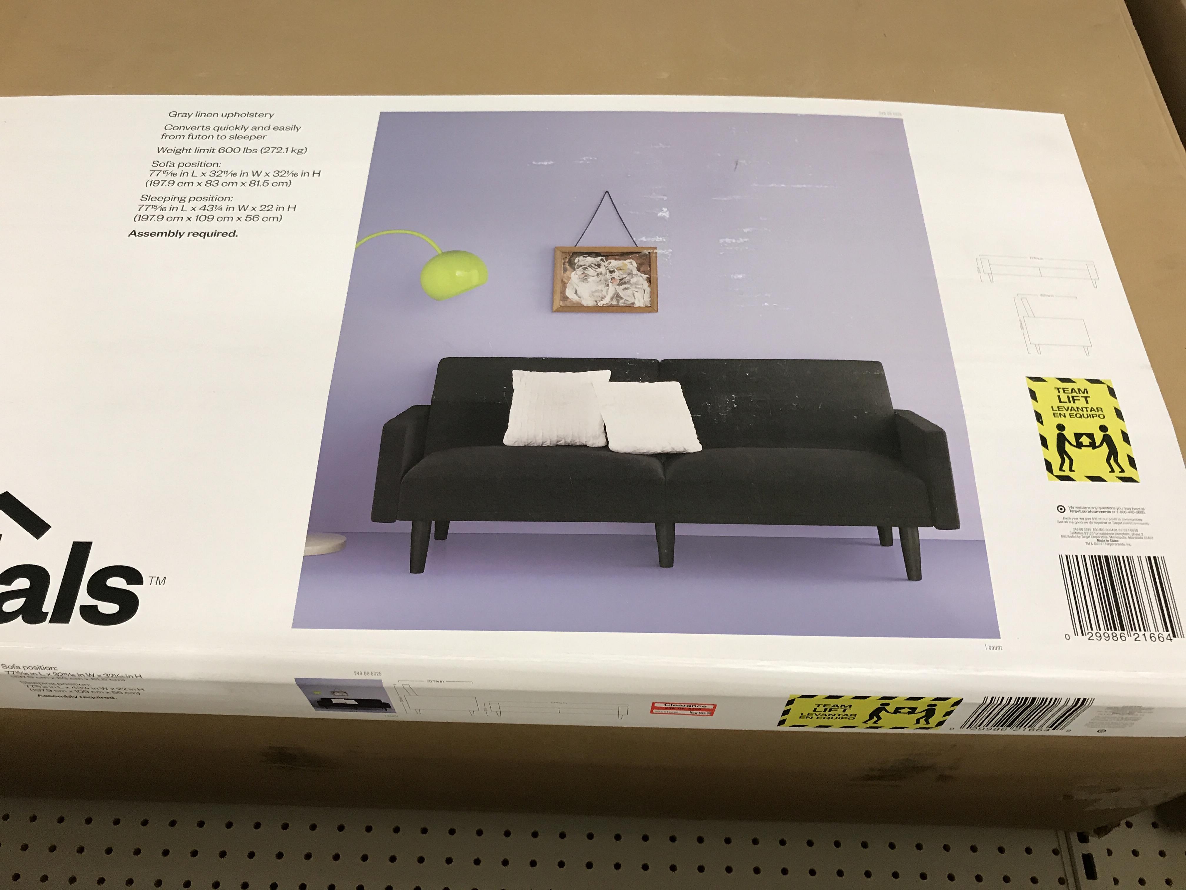 Target B M Has The Sofas Ecom Room Essentials Grey For 60