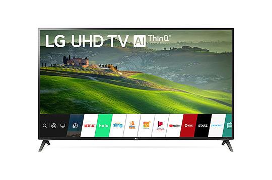LG TV 70 Inch LED 4K Ultra HD HDR Smart TV UM6970PUA Series 70UM6970PUA 2019 + $200 Dell eGift Card $699