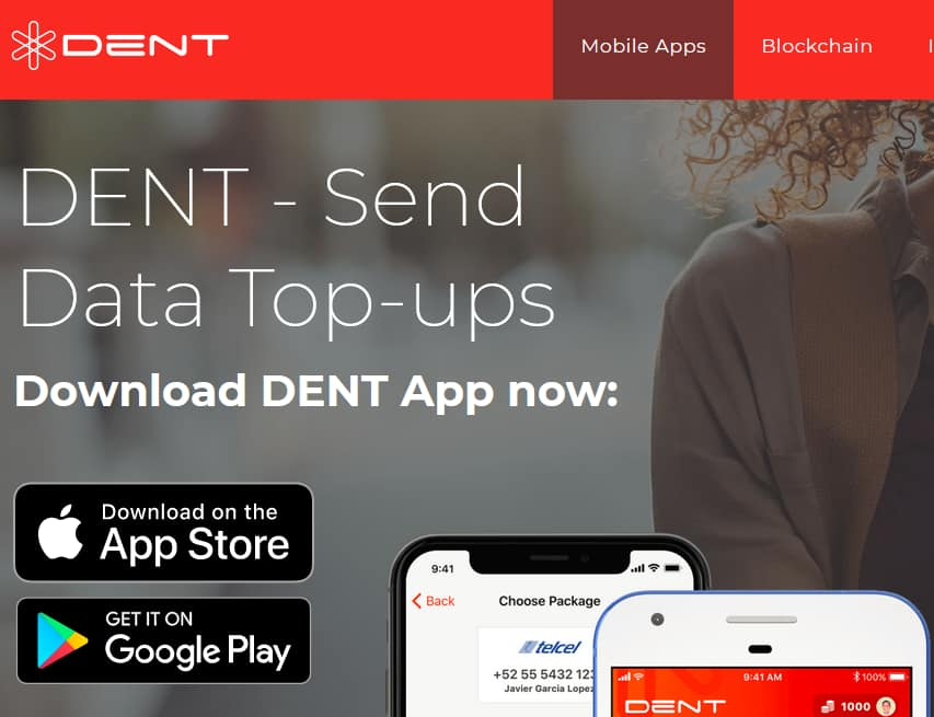 125MB / 100 MB (AT&T / verizon) free data top ups with DENT app