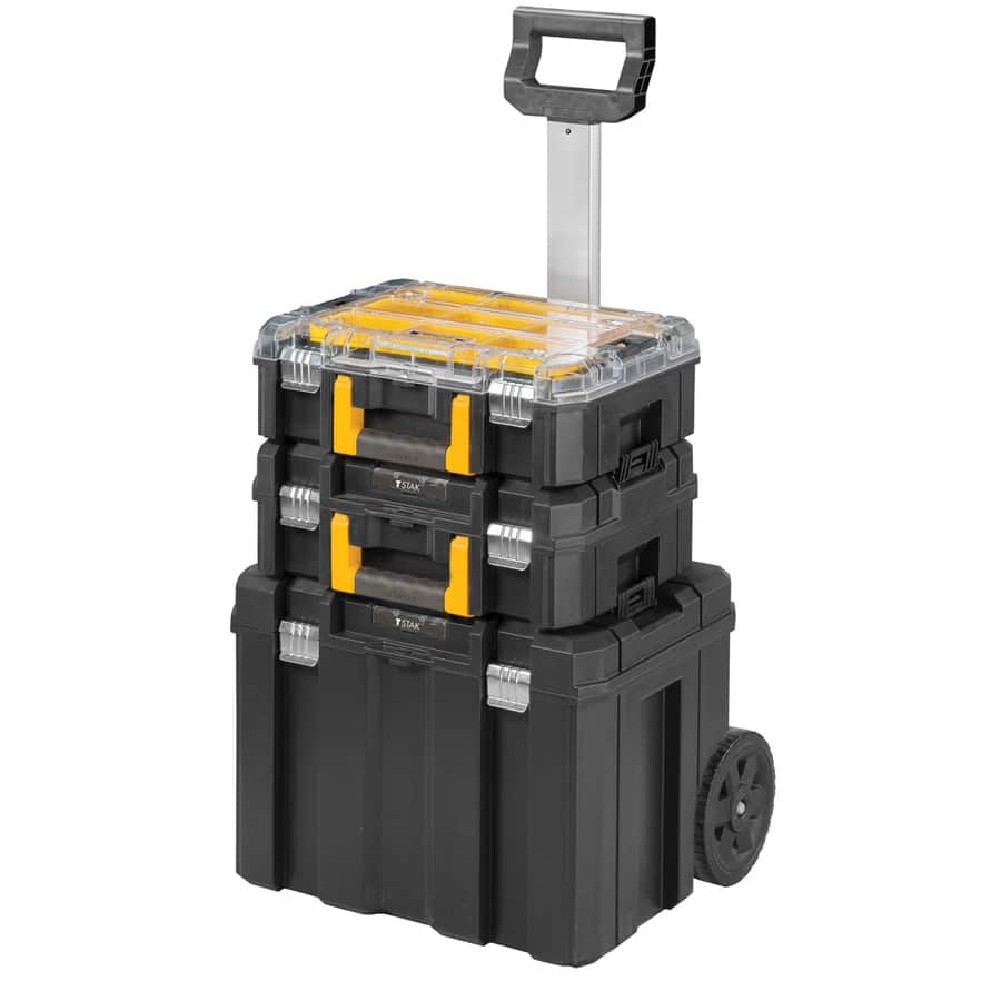 Lowes : 3 piece FatMax Tstak Rolling Tool Box Set $59 or $49 with coupon - reg $119