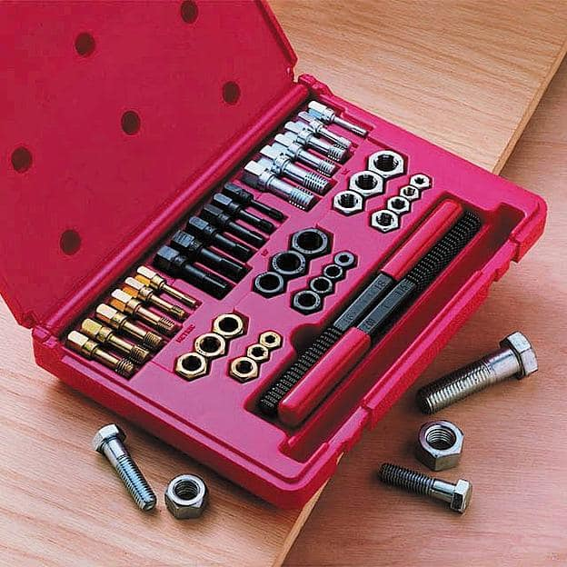 Craftsman 40 pc. Tap and Die Set, Master Rethreader $54 Earn $28 SYWR Points Back or 50 Piece Set $70 With $35 SYWR Points (YMMV) Free Shipping Sears