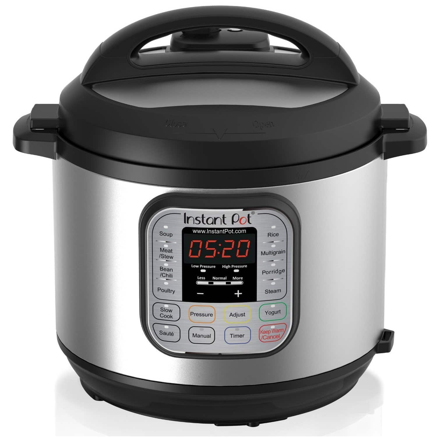 Instant Pot DUO60 6 Qt 7-in-1 Multi-Use Programmable Pressure Cooker, Slow Cooker, Rice Cooker, Yougurt Maker $74.96 Amazon