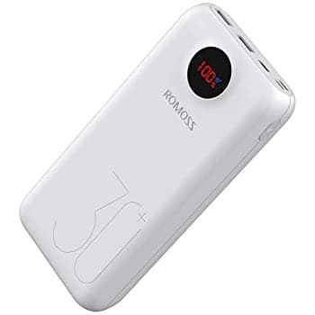 ROMOSS 30000 mAh 18w portable charger $17.27
