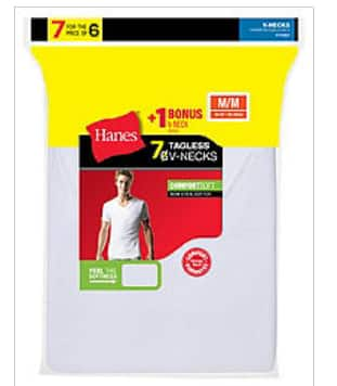 Hanes: $10 Off Your Purchase of $40 or More with code YES1040 + 25% Off Select Bonus Packs of Men's Underwear with code BONUS25
