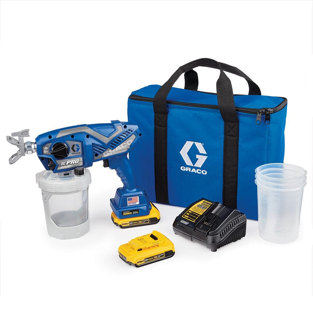 Graco TC Pro Cordless Airless Paint Sprayer $369+tax shipped only @ Home Depot YMMV
