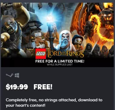 lego lord of the rings pc game download free