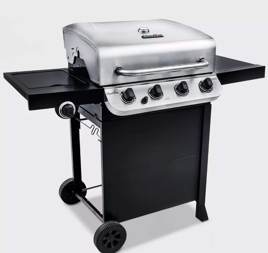 YMMV Char-Broil Performance 4 Burner Gas Grill  (in store only) $119.98