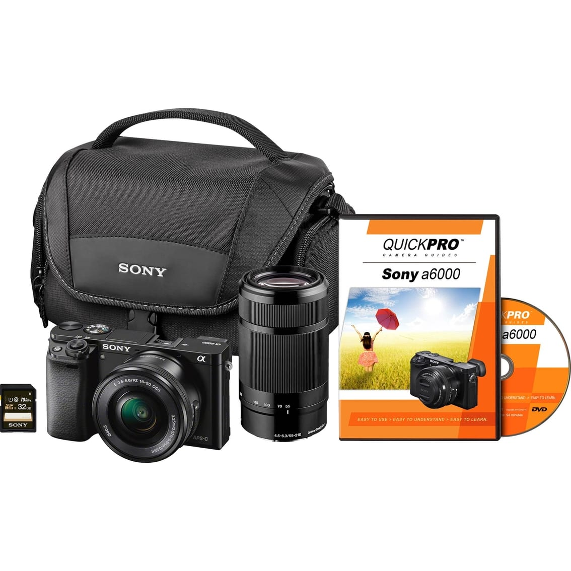 AAFES only - Sony Alpha a6000 Two Lens Bundle $600