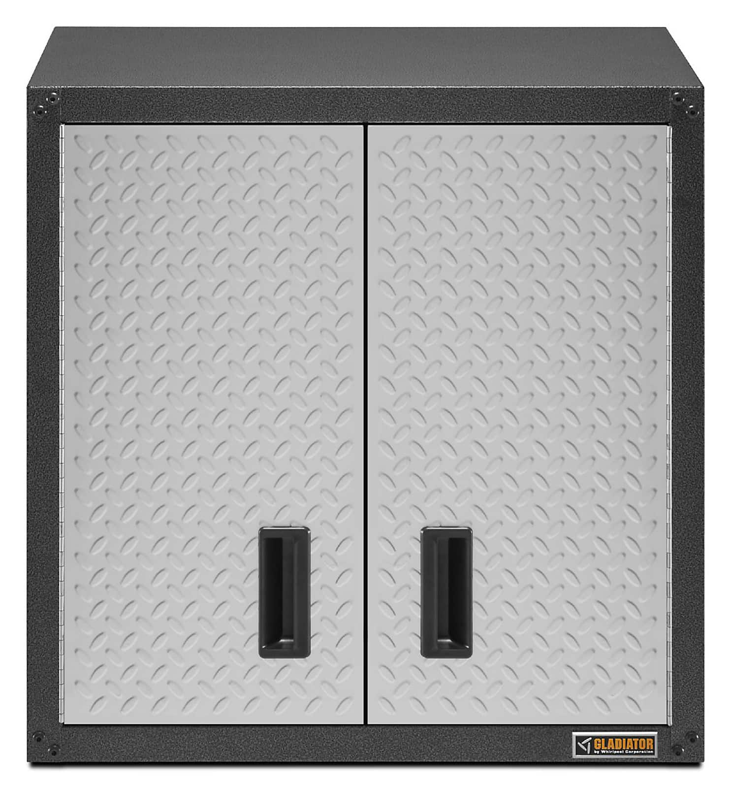 Gladiator Ready-To-Assemble 28 in. H x 28 in. W x 12 in. D Steel Garage Wall Cabinet in Hammered Granite $119 with $69.50 SYWR credit