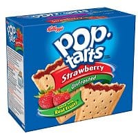 Amazon Deal: Kellegg's Pop-tarts (None Frosted) Strawberry: 144 Pops for $21 (~15 cents each) + FSSS @ Amazon