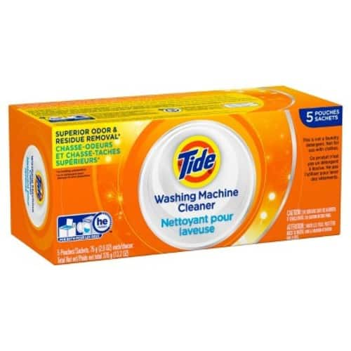 Tide Washing Machine Cleaner, 5 Count - $4.38