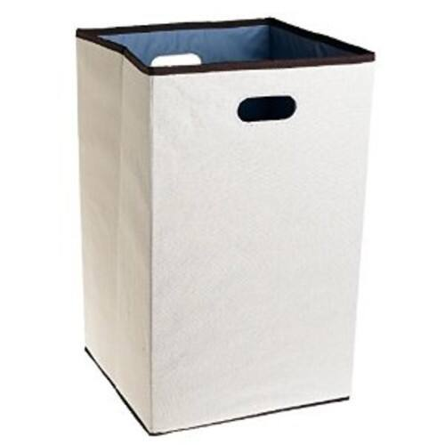 Rubbermaid Configurations Custom Closet Folding Laundry Hamper, Natural, 23-in - $11.35