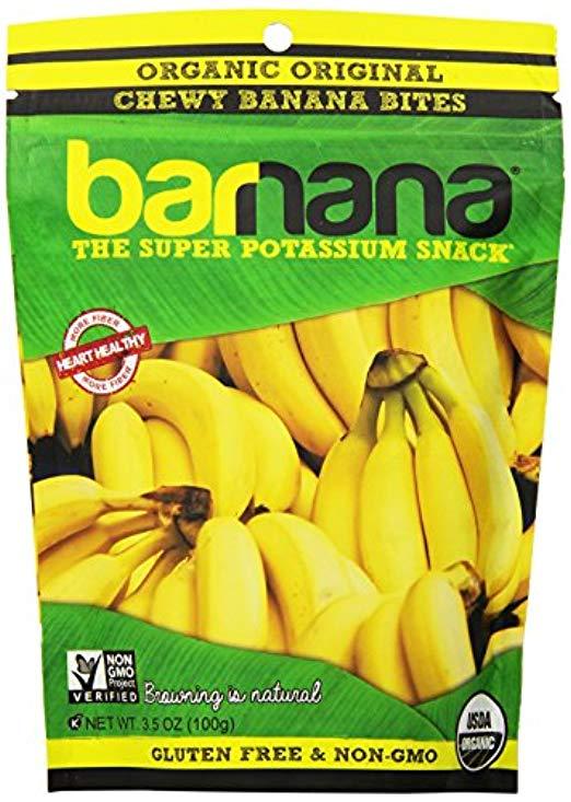 Barnana Organic Chewy Banana Bites, Original, 3.5 Ounce, 3 Count $6.93