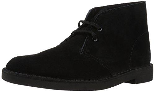 d452e8047cf Clarks Men's Bushacre 2 Chukka Boots - Various sizes less than $42 (Black  leather/Suede)