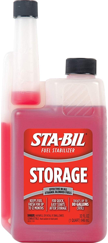 STA-BIL 22214 Red Fuel Stabilizer (32 oz.), 32. Fluid_Ounces for $8.88 + FSSS
