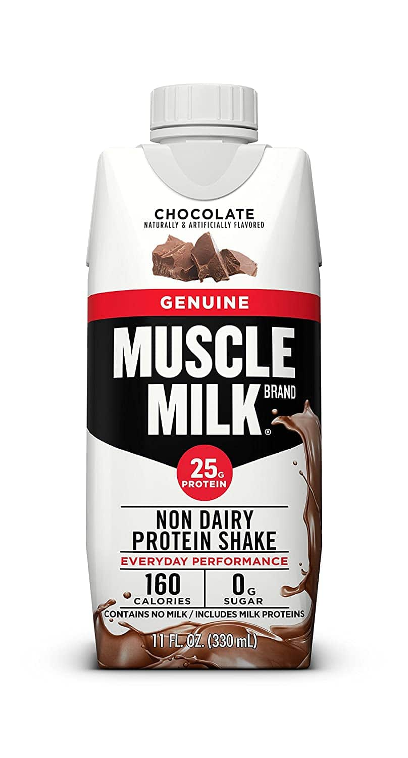 12-Count 11oz Muscle Milk Genuine Protein Shakes (Chocolate) - $8.30 + Free Shipping