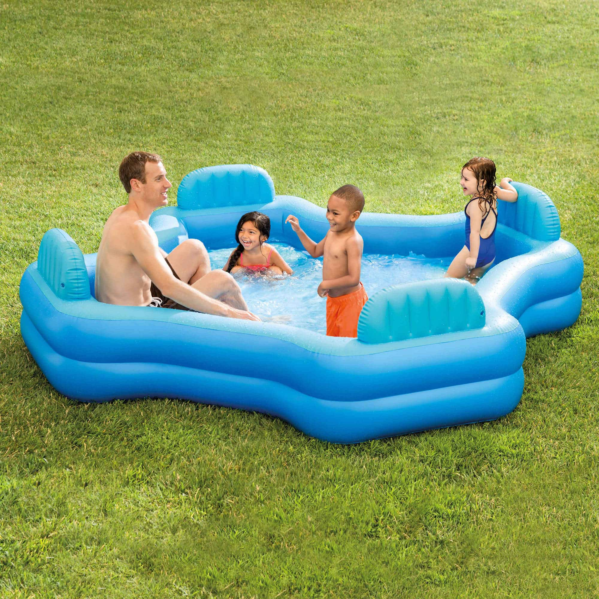 Intex Inflatable Swim Center Family Lounge Pool for $39.97 (Regularly $50) + Free Shipping