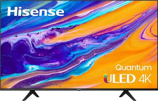 "Hisense 65"" U6G Series Quantum ULED 4K Android TV (2021) $699.99 at Best Buy"