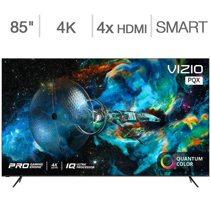"""Sam's Club: VIZIO 85"""" P-Series Quantum X 4K HDR Smart TV $1999"""